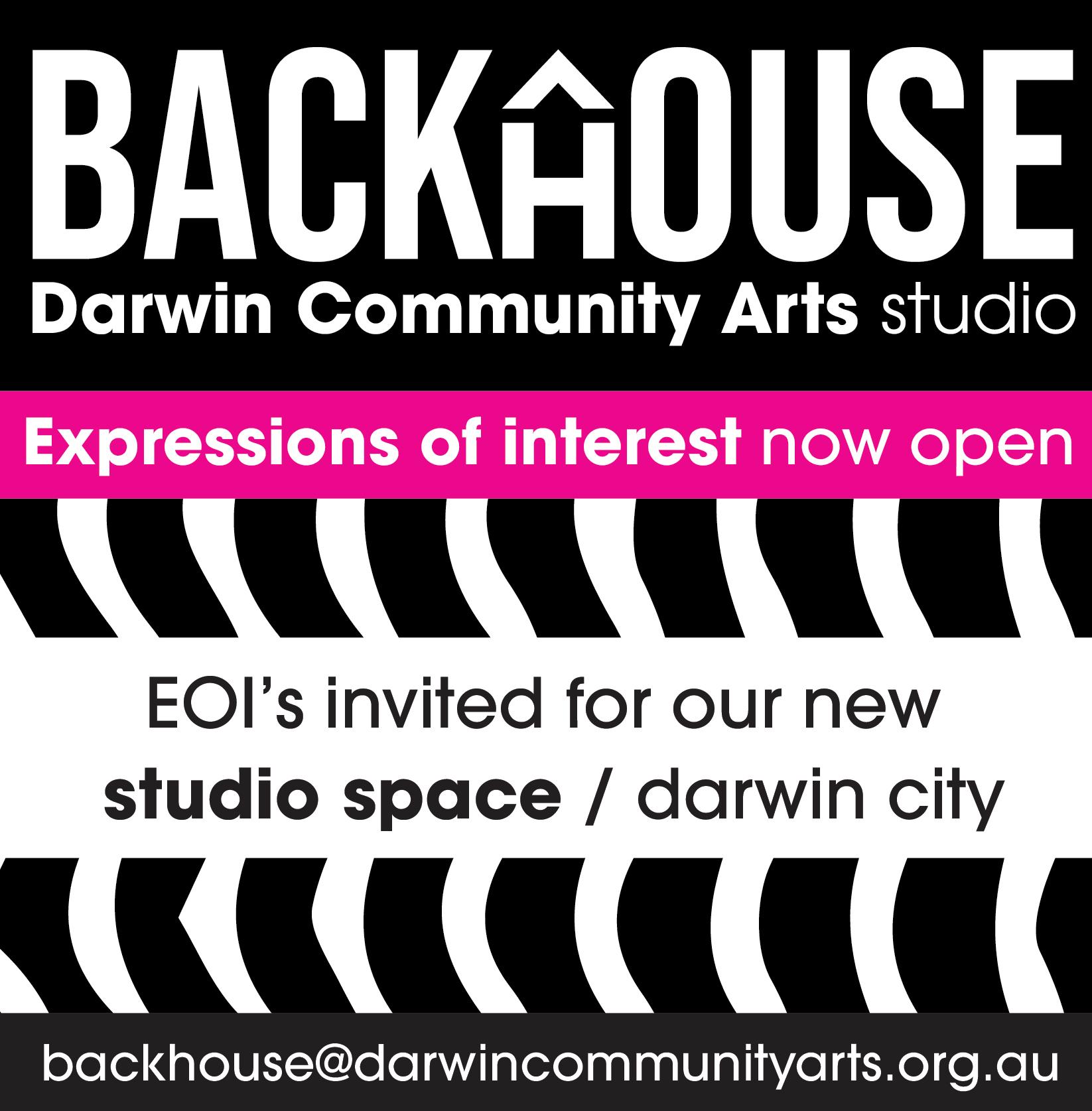 We have a studio!