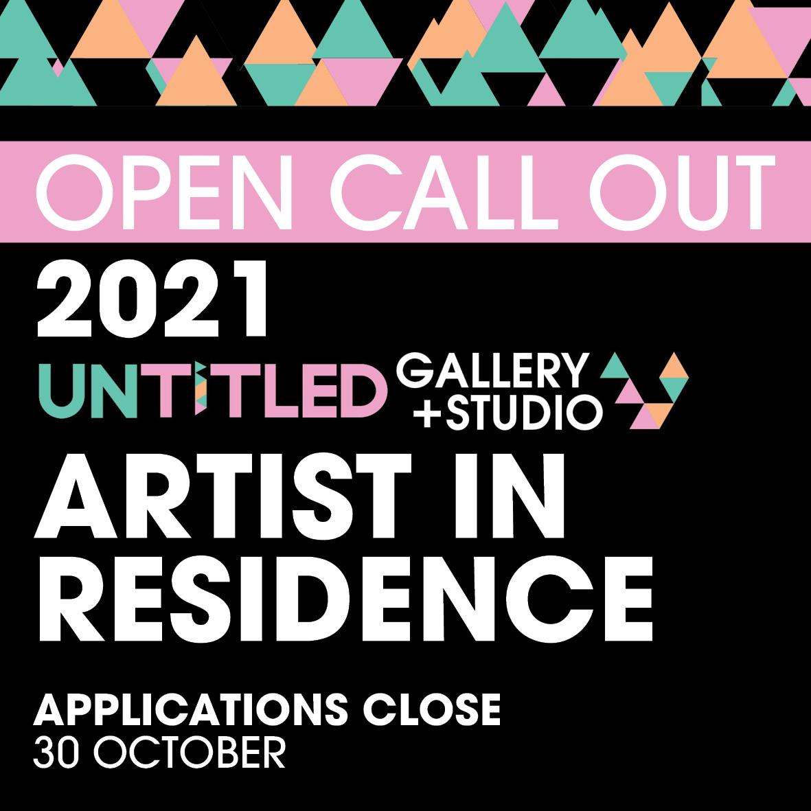 OPEN CALL for our 2021 dry season Residency Program